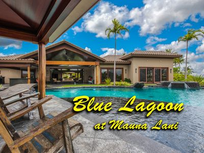 Photo for Blue Lagoon - Massive 7 bdr estate with heated pool/spa on the Kona Coast