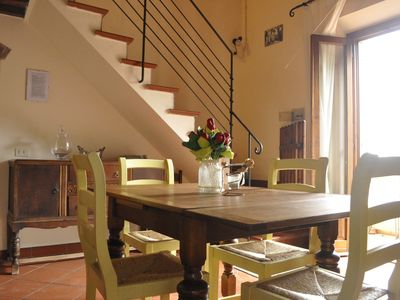 Photo for Farmhouse in Iano, Montaione, Between Florence and Siena,Tuscany