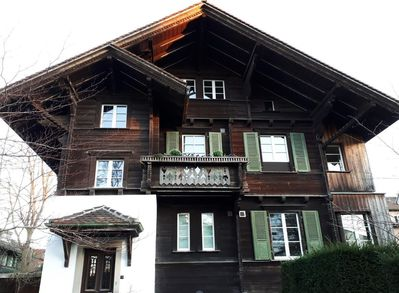 Chalet - You'll live on the ground floor