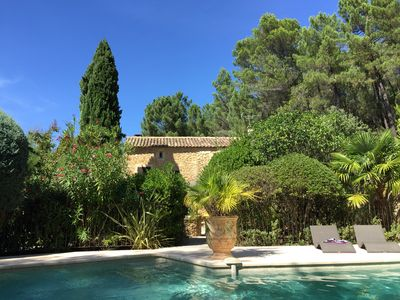 Photo for authentic Provencal farmhouse 290 m² air-conditioned