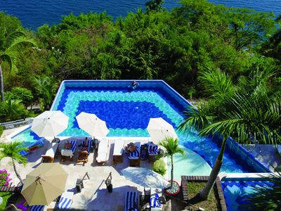 Photo for A private peninsula in Zihuatanejo Bay!