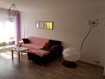 Photo for Modernized furnished apartment 2 ZKB, easy to move in and live on time