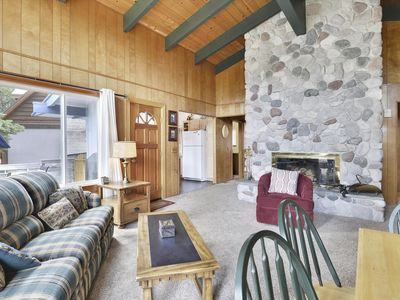 Photo for West Shore Winter Getaway Home Surrounded by Beautiful Mountain Views and Close to Tahoe City and Homewood Ski Resort. Only 10 Miles Away from Squaw Alpine Meadows.
