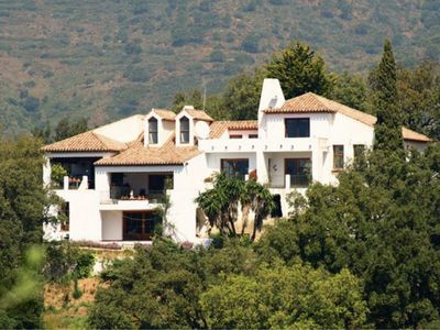 Photo for Incredible views, completely private villa, facing south, sun all day!