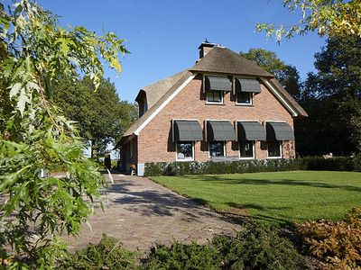 Photo for Luxurious unique holiday villa with 2-hectare private garden, infrared sauna in Twente