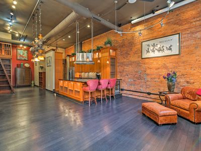 Photo for Chic Loft-Style Condo in the Heart of Indianapolis
