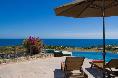 Stunning ocean views from the pool