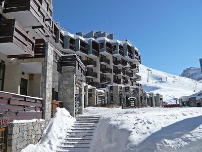 Photo for Apartment 398 m from the center of Tignes with Internet, Lift, Balcony (676882)