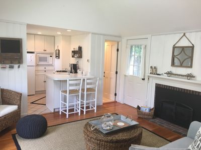 inviting space with all new furnishings