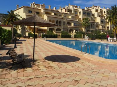 Photo for Luxury apartment with free WiFi located a few minutes walk from the Port