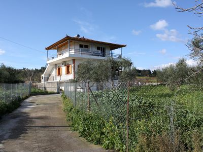 Photo for Directly at the beach, in calm, rural environment - holiday apartment Messenia,