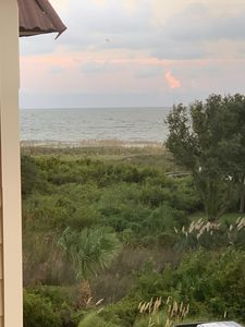 Photo for 2 minute walk to Beach!  Newly updated, a real beach getaway! Bldg A, quiet view