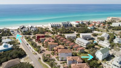 Photo for 28% off Aug/Sept weeks! Only 200 Yards to Beach! Mil/LE Discount, Pets Welcome