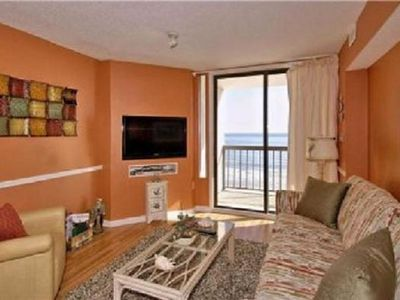 Photo for OCEANFRONT 3 BEDROOM  - SPECTACULAR VIEWS - OUTDOOR & INDOOR POOLS