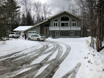 Photo for White Mountains Chalet with Private Hot Tub-North Conway/Story Land