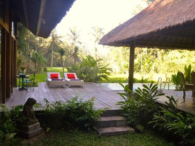 Photo for Luxurious villa in a rice-field valley, STAIRWAY TO HEAVEN RETREAT, Ubud area