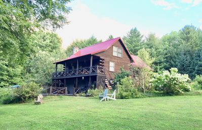 Photo for Log Cabin on 63 Acres: Minutes to Salmon River Lower Fly Zone & ATV Trails