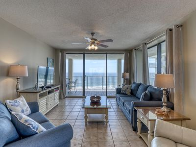 Photo for Inviting condo w/ beachfront views, shared indoor/outdoor pool, & beach access!