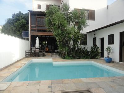 Photo for BEAUTIFUL HOUSE IN TIJUCA BAR BEACH enjoy sea, mountain forest together