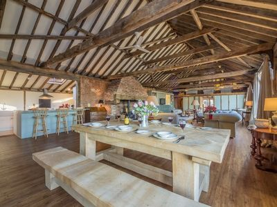 Photo for This unique, converted barn is situated in a stunning AONB.