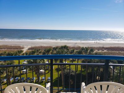 Photo for Oceanfront 2 Bedroom 3 Bath Suite at Boardwalk Resort Sleeps 10~Unit 439 & 440