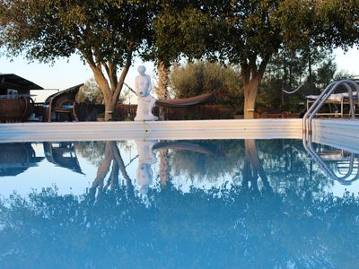 Photo for Villa Christina- 2 bedrooms sleeps up to 5 with big garden and private pool
