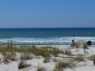 Photo for Pinnacle Port Vacation Rentals- C2 building, 2 bdr. 2 bath Ground Floor, Gulf Front condo!