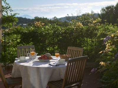 Photo for Beautiful bastide with sea view and large garden