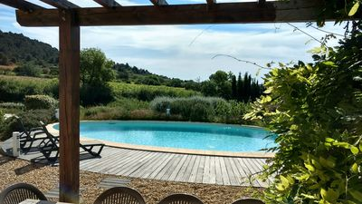 Photo for Beautiful Languedoc Villa in historic Minervois Village
