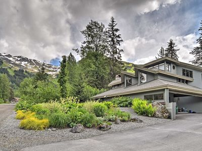 Photo for Custom Girdwood Home 2 Blocks from Alyeska Resort!