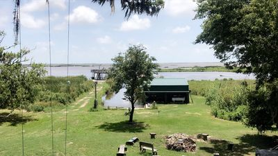 Photo for Camp Paradise located on the marsh in Pecan Island