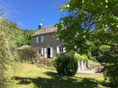Photo for Farmhouse with pool and outstanding views near River Lot from £600 pw