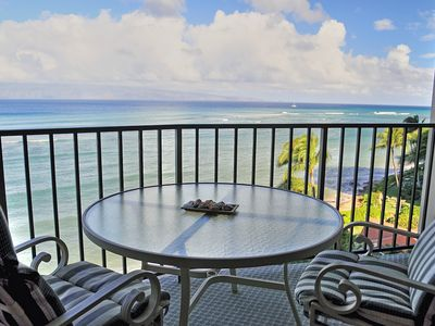 Photo for Fabulous Oceanfront views from private lanai