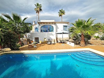 Photo for Vacation home Casa Carmen  in Moraira, Costa Blanca - 4 persons, 2 bedrooms