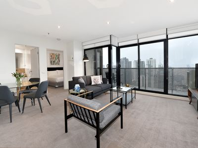 Photo for Fully furnished one bedroom Penthouse Apt3608/380 Little Lonsdale Street Melbourne