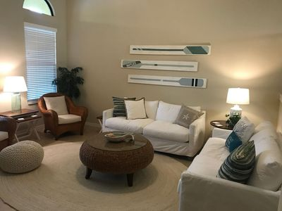 Photo for Newly Furnished Island Style Townhome on Quad in Olé at Lely Resort