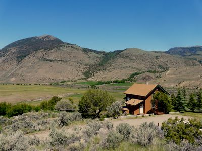 Our vacation home sits on a 1.5 acre fenced property amidst Forest Service Land
