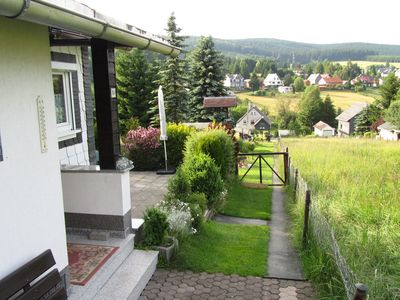 Photo for Detached holiday home with a cosy fireplace in the central Thuringian Forest