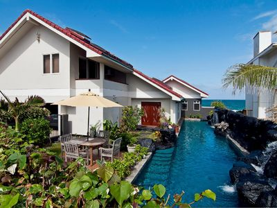 Photo for Absolutely Oceanfront Kailua - NOW $99 - Legal/ Licensed - 60 Ft Waterfall Pool