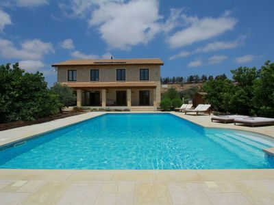 Photo for Boutique Stone Villa set within an orange grove.Peaceful yet close to everything