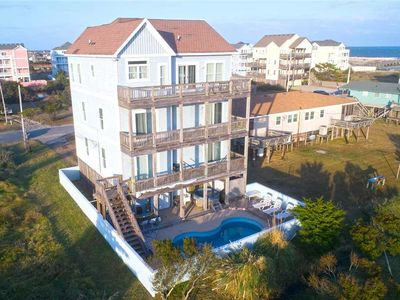Photo for New Oceanview Listing w/ Private Pool & Tiki Bar, Hot Tub, Game Rm, Dog-Friendly