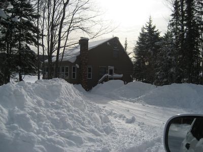 Photo for Book now, tons of snow to go down hill, cross county & snow mobiling