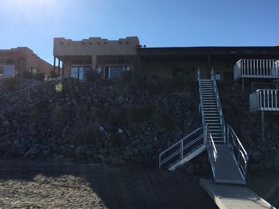 Photo for 25' Boat Dock with Stairway to Beach!!