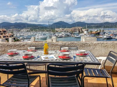 Photo for Apartment Cascadelles, Galiote, 2 Voiles  in Cogolin, Cote d'Azur - 6 persons, 3 bedrooms