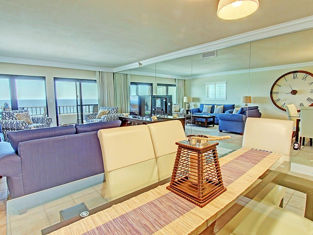 Quot Breakers East 801 Quot Gulf Front 2br 2ba Remodeled End Unit