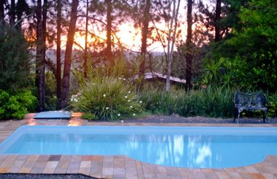 Photo for Beautiful place with swimming pool, court, barbecue, fireplace, large green area