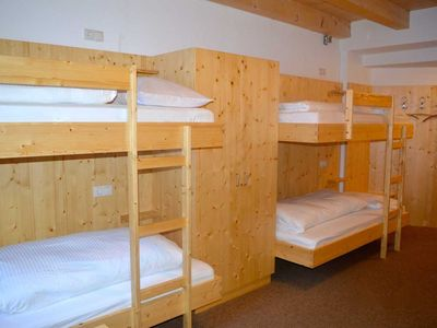 Photo for 8-bed room - Pitztal ski hut