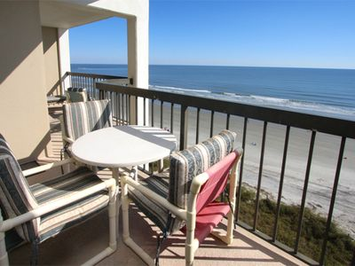 Photo for Oceanfront Beautiful 3 bedroom 3 bath condo with and Indoor Pool and Wifi