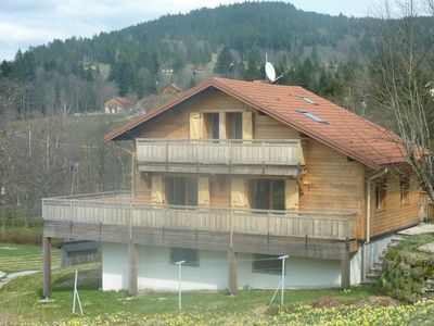 Photo for 3-star chalet 'Les Ruisseaux', Gerardmer, close to mountains and the lake
