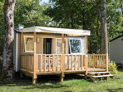Photo for Camping Chèvrefeuilles **** - Mobile home 2 Rooms 2 People